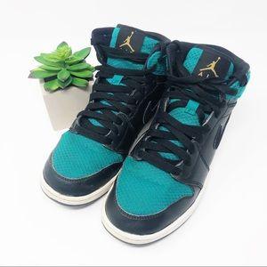 Air Jordan 1 Retro High GG Black Rio Teal